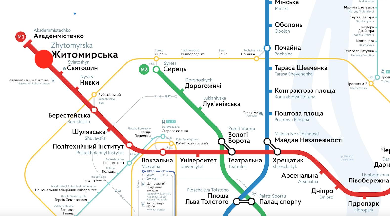 житомирська метро